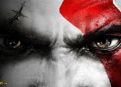 Kratos, God of War - random desktop wallpaper
