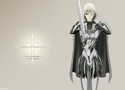 Claymore, anime - desktop wallpaper