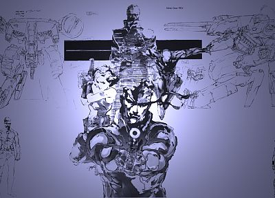 snakes, Metal Gear Solid, Solid Snake - desktop wallpaper