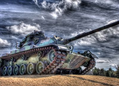 tanks, HDR photography - random desktop wallpaper