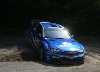 cars, Subaru, vehicles, Subaru Impreza WRC - random desktop wallpaper