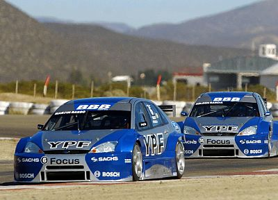 cars, Ford Focus TC 2000 Argentina, TC 2000 - random desktop wallpaper