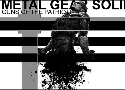 Metal Gear, video games, guns, Metal Gear Solid - random desktop wallpaper