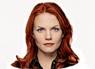 fake, redheads, Jennifer Morrison, House M.D. - random desktop wallpaper
