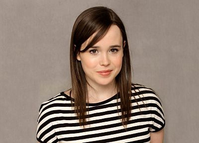 brunettes, women, Ellen Page, actress - related desktop wallpaper
