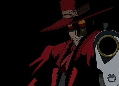 Alucard, vectors, Hellsing Ultimate - random desktop wallpaper