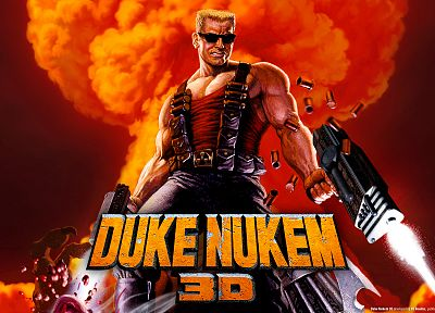 video games, Duke Nukem - desktop wallpaper
