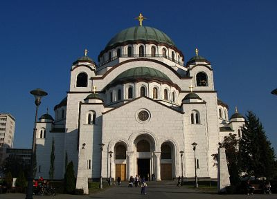 Belgrade, Saint Sava's Church - random desktop wallpaper