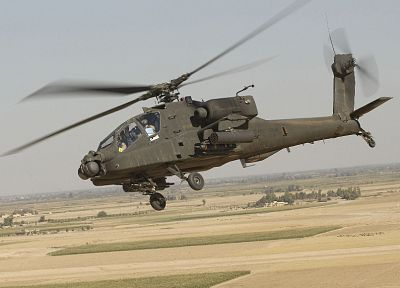 aircraft, helicopters, vehicles, AH-64 Apache - related desktop wallpaper