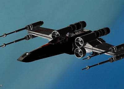 Star Wars, X-Wing - random desktop wallpaper