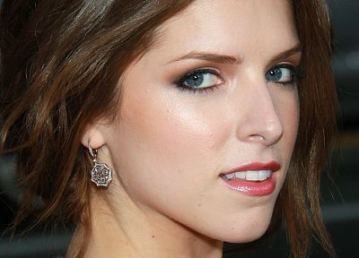 women, Anna Kendrick, earrings - desktop wallpaper