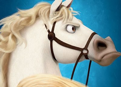 cartoons, horses, Tangled - related desktop wallpaper