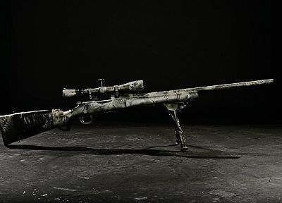 rifles, military, snipers, weapons, sniper rifles, M24SWS - related desktop wallpaper