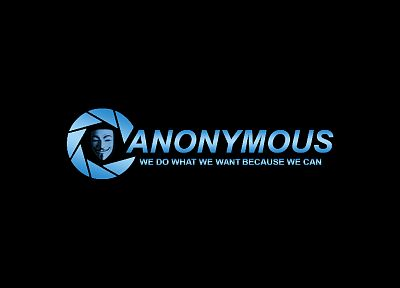 Anonymous, Guy Fawkes, Aperture Laboratories - random desktop wallpaper