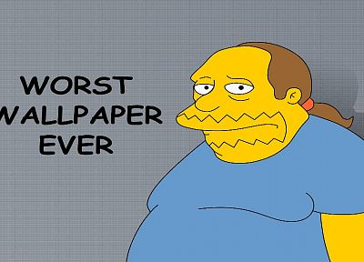 The Simpsons, Comic Book Guy - random desktop wallpaper