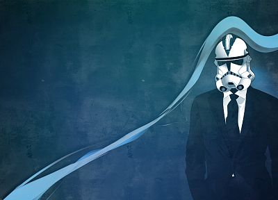 blue, stormtroopers, digital art, artwork - random desktop wallpaper