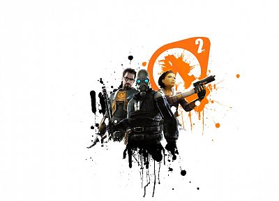 video games, Half-Life, Gordon Freeman, Combine, Alyx Vance, Half-Life 2 - related desktop wallpaper