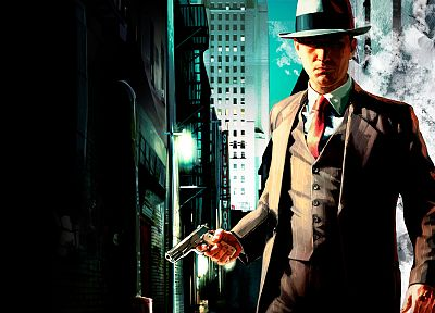 video games, L.A Noire - related desktop wallpaper