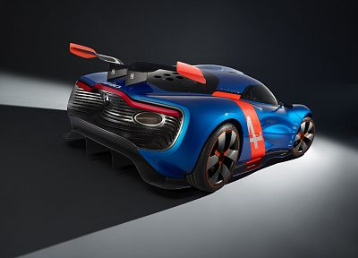cars, studio, concept art, supercars, Renault Alpine, racing cars, Renault Alpine A110-50 - desktop wallpaper