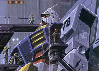 Mobile Suit Gundam - random desktop wallpaper