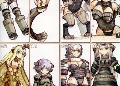 blondes, Shadow of the Colossus, anime, anime girls, Kyozou Musume, personification - related desktop wallpaper