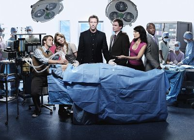 TV, Jennifer Morrison, Lisa Edelstein, Hugh Laurie, James Evan Wilson, Gregory House, Omar Epps, Robert Sean Leonard, Jesse Spencer, Cuddy, Robert Chase, House M.D. - random desktop wallpaper
