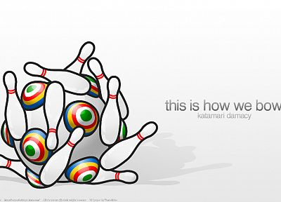 bowling, Katamari Damacy - related desktop wallpaper