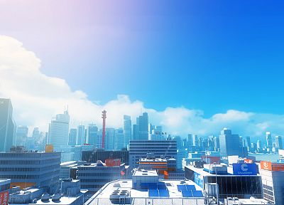 video games, Mirrors Edge - desktop wallpaper