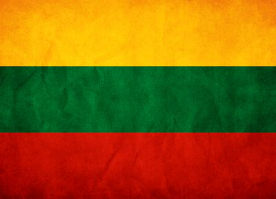 flags, Lithuania - random desktop wallpaper