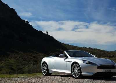 cars, Aston Martin, silver cars - random desktop wallpaper