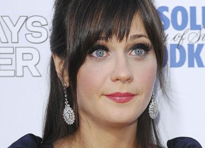 actress, Zooey Deschanel - random desktop wallpaper