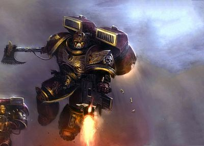 space marines - random desktop wallpaper