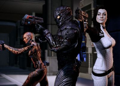 video games, Mass Effect, Miranda Lawson, BioWare, Subject Zero, Commander Shepard, Jack (Mass Effect) - related desktop wallpaper