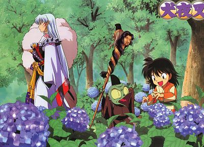 Inuyasha, anime, Sesshomaru, Jaken - related desktop wallpaper