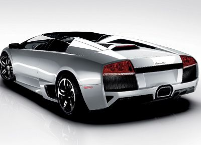 cars, vehicles, Lamborghini Murcielago, backview cars - desktop wallpaper