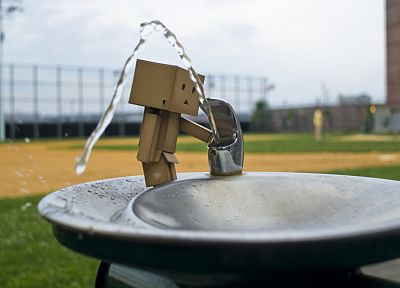 Danboard, artwork, drinking fountains - random desktop wallpaper