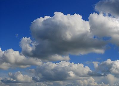 clouds, skyscapes - random desktop wallpaper