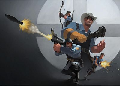 Team Fortress 2, drawings, hats - related desktop wallpaper