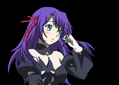 vectors, transparent, purple hair, anime girls, Kiddy Girl-and, Q-feuille, anime vectors - related desktop wallpaper