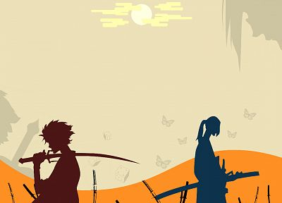 Samurai Champloo, katana, samurai, Jin, Mugen - related desktop wallpaper