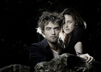 Kristen Stewart, Twilight, Robert Pattinson, HDR photography, Edward Cullen, Bella Swan - random desktop wallpaper