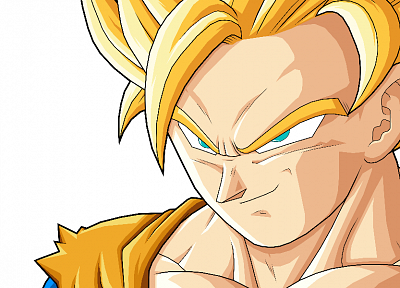 Son Goku, Dragon Ball Z, simple background - related desktop wallpaper
