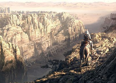 video games, landscapes, Assassins Creed, Altair Ibn La Ahad, artwork - related desktop wallpaper