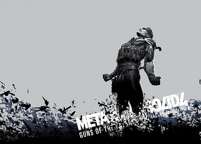 Metal Gear, video games, guns, Metal Gear Solid, Solid Snake - related desktop wallpaper