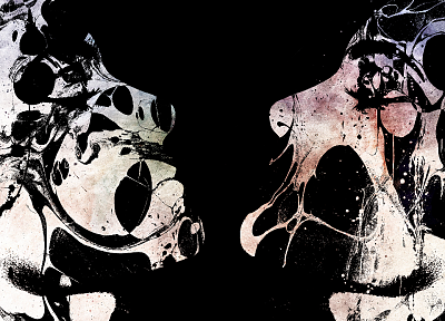 abstract, cybermen, Doctor Who, faces - related desktop wallpaper