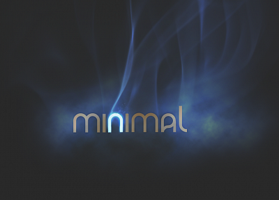 minimalistic, smoke - related desktop wallpaper