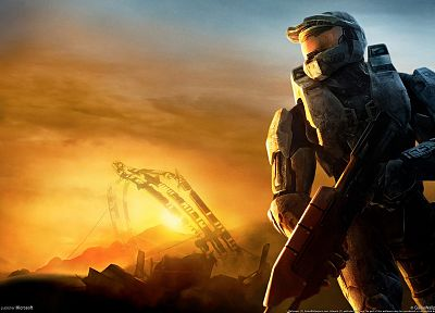 video games, Halo, Master Chief - random desktop wallpaper