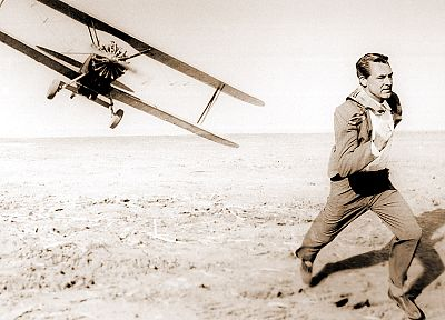 aircraft, movies, running, North By Northwest - related desktop wallpaper
