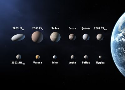 outer space, Solar System, planets - desktop wallpaper