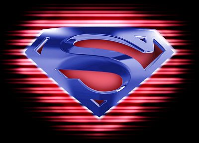 black, dark, DC Comics, Superman, logos, Superman Logo - desktop wallpaper